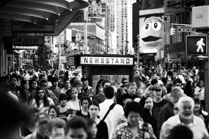 Times Square, New York, photography Mike van Bemmelen